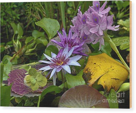 Lilies No. 39 Wood Print