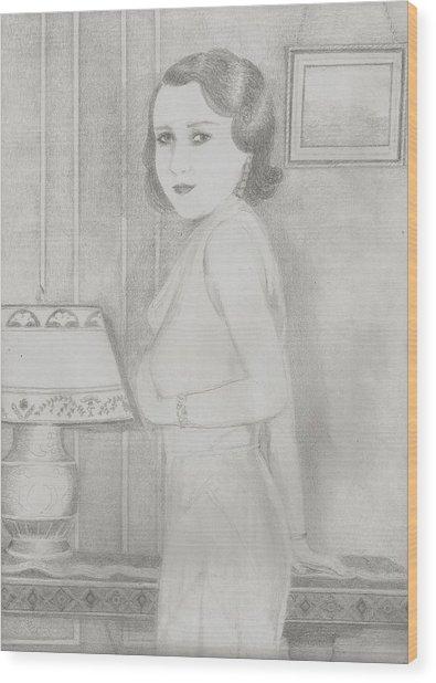 Lillian Wood Print by Jami Cirotti