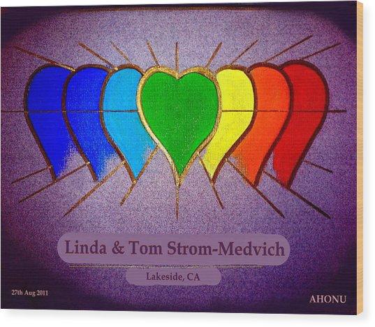 Linda And Tom Wood Print