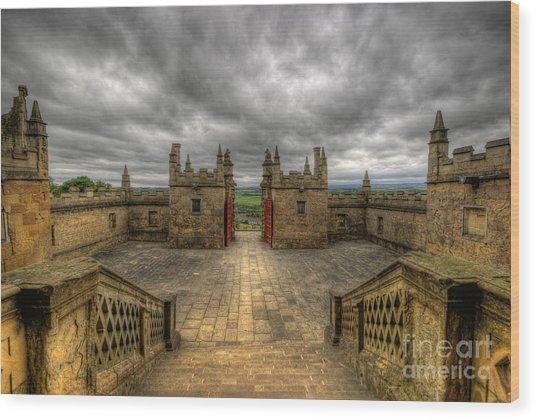Little Castle Entrance - Bolsover Castle Wood Print