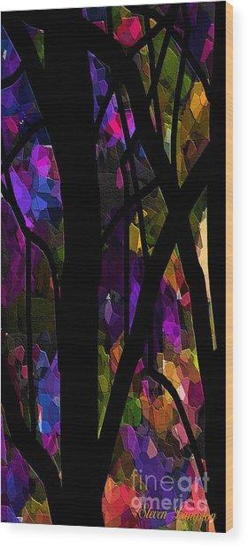 Living Lavender Wood Print