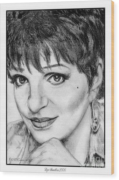 Liza Minnelli In 2006 Wood Print