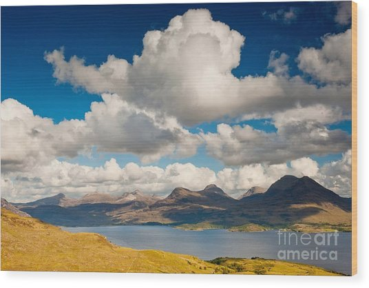 Loch Torridon Wood Print