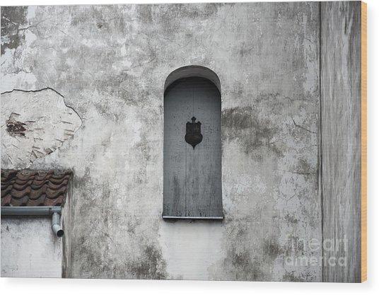Lonely Window Wood Print