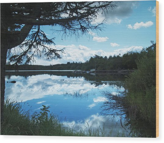 Lough Eske Wood Print