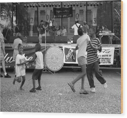 Louisiana Folklife Festival  Wood Print