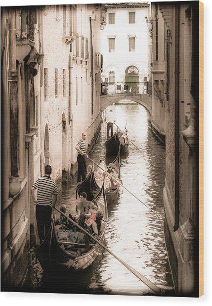 Love Canal Wood Print