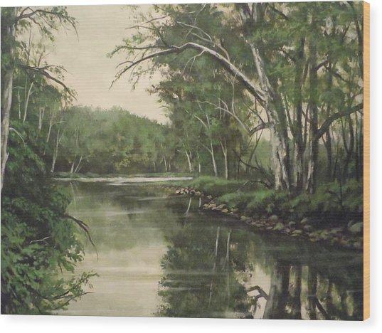 Loyahanna Creek Wood Print