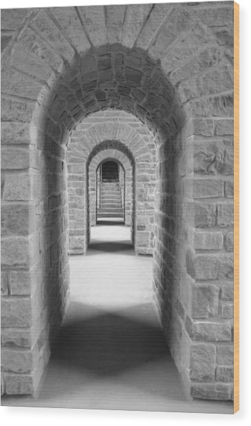 Luxembourg Passages Wood Print