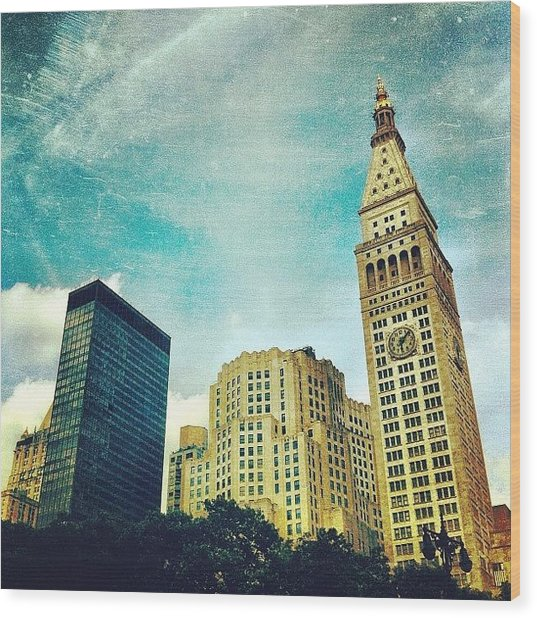 Madison Square Park. #nyc #manhattan Wood Print