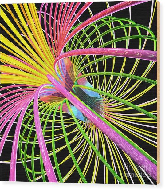 Magnetism 4 Wood Print