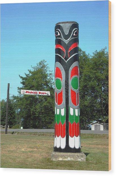Makah Days Neah Bay Wood Print