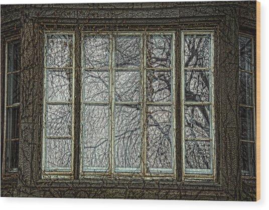Manifestation Of Time Wood Print