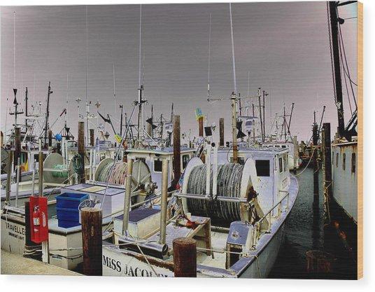 Marina 001 Wood Print