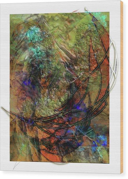 Marmalade Wood Print by Monroe Snook