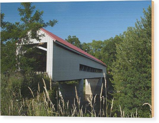 Mechanicsville Road Bridge Wood Print