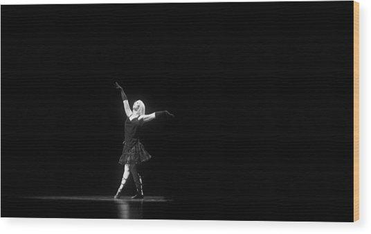 Wood Print featuring the photograph Melissa Hanson - Dance by Matt Hanson