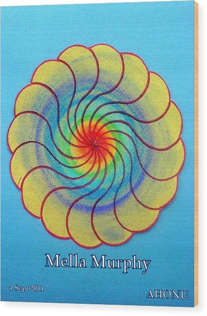 Mella Murphy Wood Print