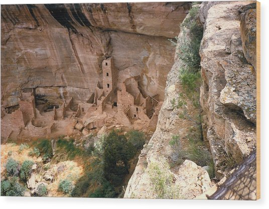 Mesa Verde One Wood Print