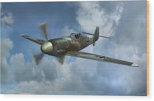 Messerschmitt Bf-109 Wood Print