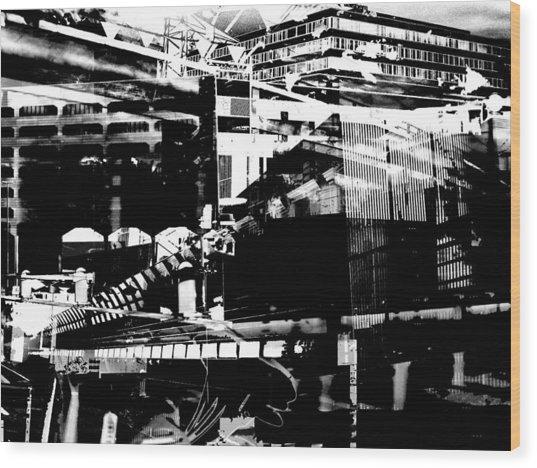 Metropolis Zurich 1 Wood Print