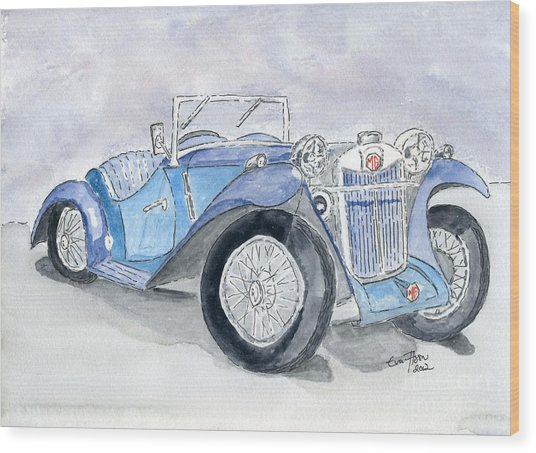 Mg 1926 Wood Print