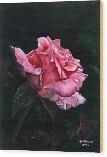 Michele's Rose Wood Print