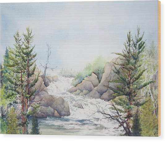 Michigan's Upper Peninsula Wood Print