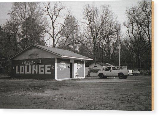 Mike's Lounge Wood Print