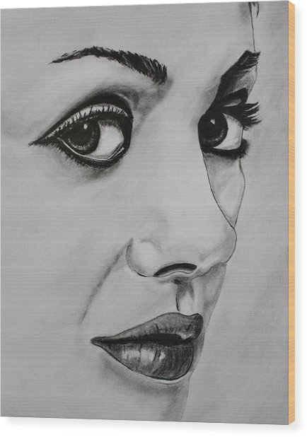 Mila Wood Print