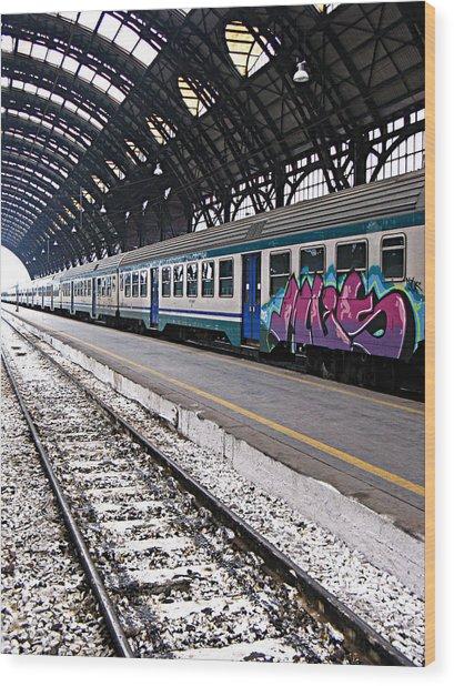 Milan Italy Fine Art Print Wood Print by Ian Stevenson