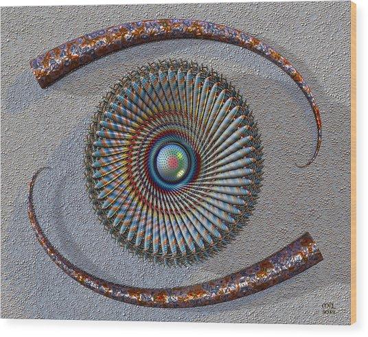 Mind's Eye IIi Wood Print