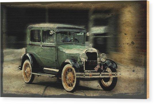 Model T Wood Print