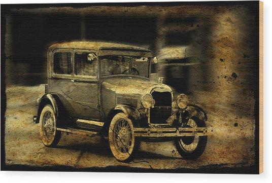Model T No. 3 Wood Print