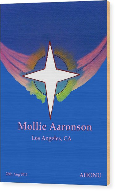 Mollie Aaronson Wood Print