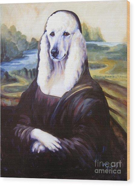 Mona Leasha Wood Print