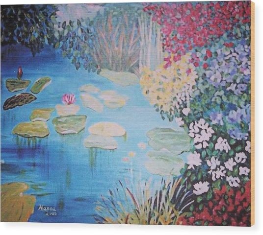 Monet Style By Alanna Wood Print by Alanna Hug-McAnnally
