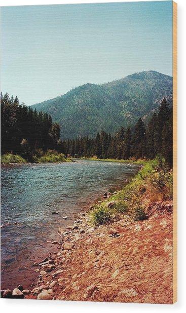 Montana Wood Print