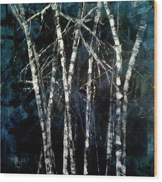 Moods Of Winter Wood Print