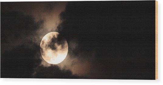Moondance Wood Print by Rachel Hames