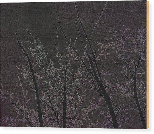 Moonlight I Wood Print
