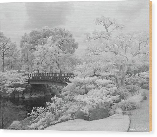Morikami Japanese Gardens Wood Print