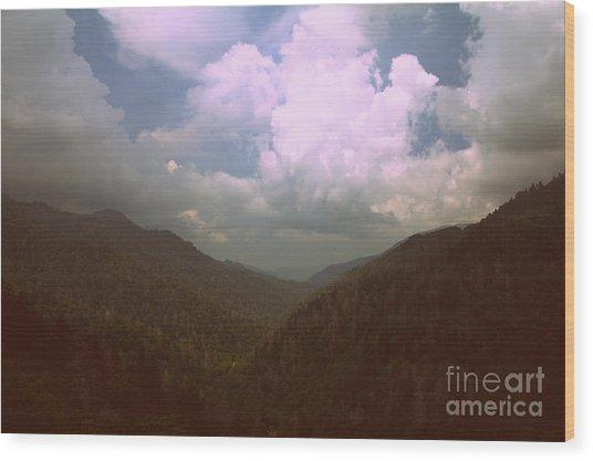 Morton Overlook Tennessee Wood Print