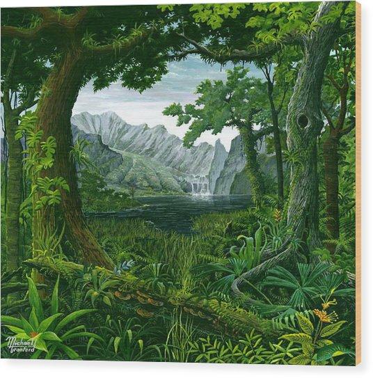Mount Chirripo  Wood Print