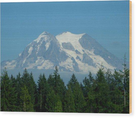Mount Rainier 5 Wood Print
