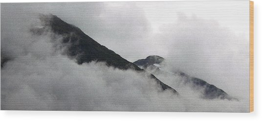 Mountains To Touch The Sky Wood Print