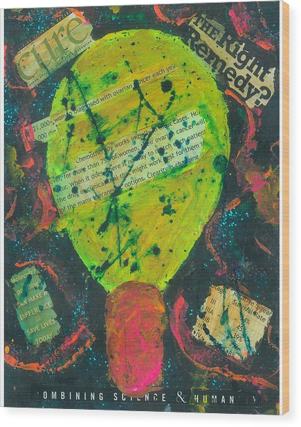 Movers And Shakers-clearity Foundation Wood Print