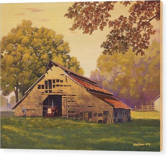 Mr. D's Barn Wood Print