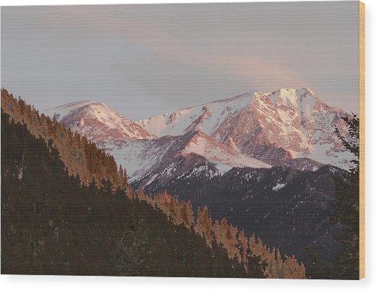 Mt Epsilon Wood Print