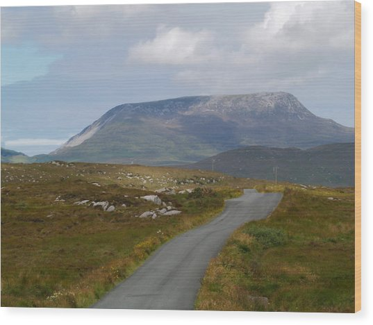 Muckish Mountain Wood Print